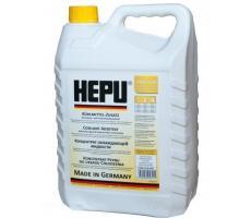 Антифриз желтый Hepu 5L концентрат 1:1 -40°C, P999-YLW-005