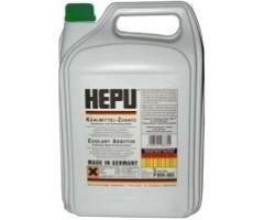 Антифриз зеленый Hepu 5L концентрат 1:1 -40°C, P999-GRN-005
