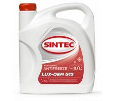 Антифриз Sintec LUX-OEM G12 -40C, 5KG
